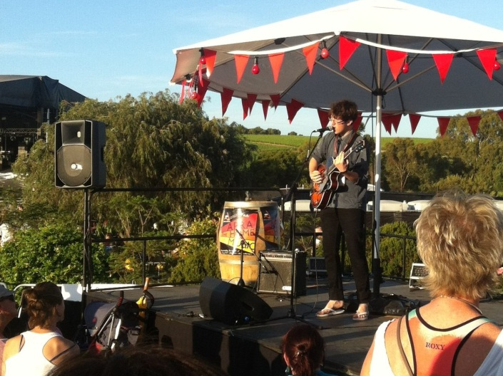 Jesse Davidson live at Gorgeous Festival