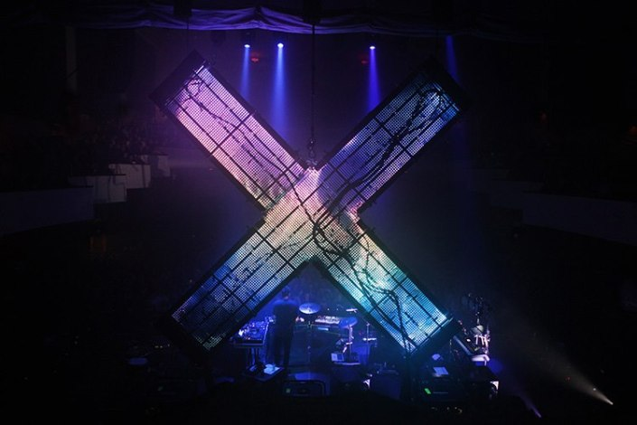 Image courtesy of The xx - Live at Bristol
