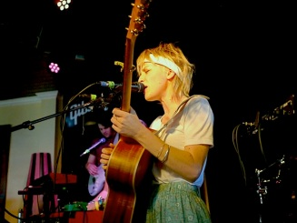 Emma Louise live at The Aussie BBQ - SXSW. Maggie Maes. Image by Dan Wilkinson (Hot & Delicious Group).