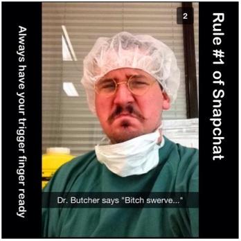 DJ Butcher Snapchat - $werve Bitch