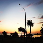 St Kilda sunset. Melbourne (Australia)