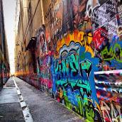 Street-art. Melbourne (Australia)