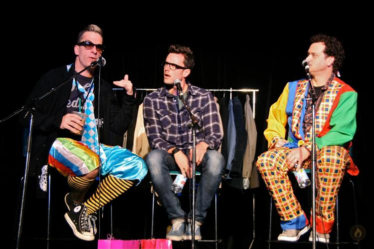 Greg Behrendt live at Melbourne International Comedy Festival with Dave Thornton and Dave Anthony.