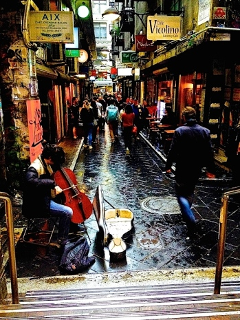Degraves St happiness