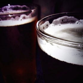 Cheeky beers at Bimbo Deluxe, Fitzroy.
