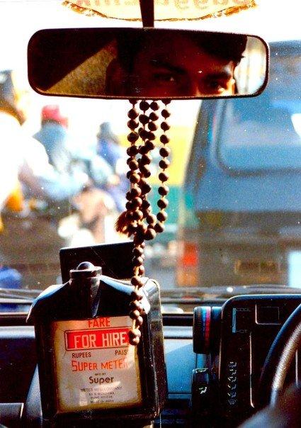 Taxi for Hire. Delhi, India. Photo credit: Dan Wilkinson (Hot & Delicious Group).