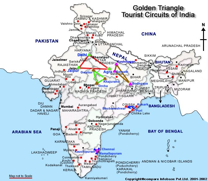 The Golden Triangle - India