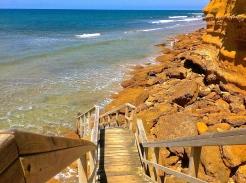 Steps - Jan Juc, Australia. Photo credit: Dan Wilkinson (Hot & Delicious Group) https://hotndelicious.wordpress.com/