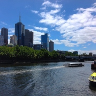 Melbourne CBD shot from Southbank. Photo credit: Dan Wilkinson (Hot & Delicious Group). www.hotndelicious.wordpress.com