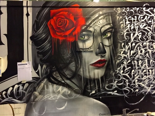 Artists: Destroy + Mayo Naize collab - The Paterson Project