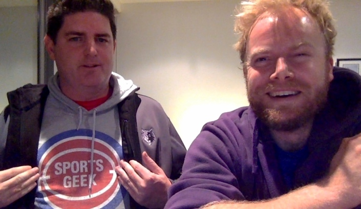 Global sports digital marketer Sean Callanan AKA Sports Geek stops by the studio.