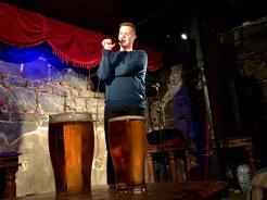 Tom Ballard struts his stuff pre Edinburgh Fringe Festival