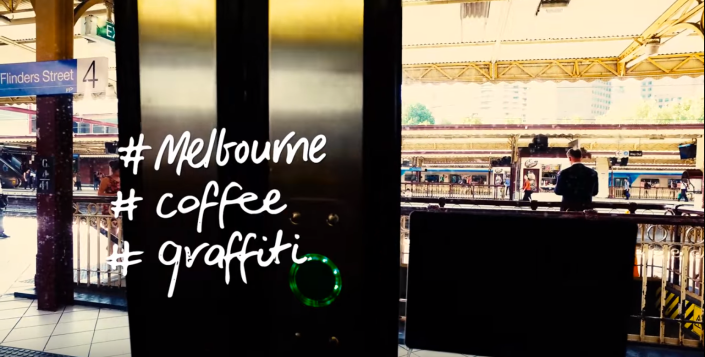 #Melbourne, #coffee & #streetart by Linchpin Studios