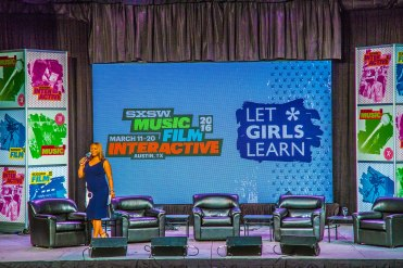 Photography - Michelle Obama's SXSW Keynote Conversation #LetGirlsLearn Photos by Dan Wilkinson (Hot & Delicious: Rocks The Planet).