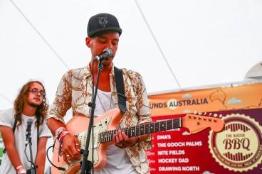 Tigertown live at Sounds Australia's #TheAussieBBQ #SXSW Photos by Dan Wilkinson (Hot & Delicious: Rocks The Planet). info@hotndelicious.com https://hotndelicious.com/