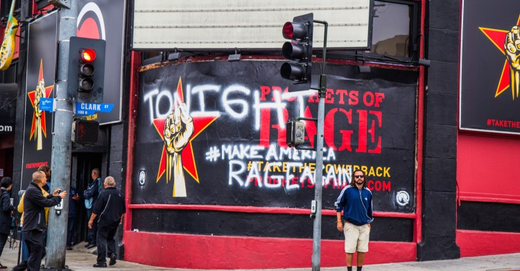 Supergroup Prophets Of Rage first show tonight at Whisky A Go Go. Photography by Dan Wilkinson (Hot & Delicious: Rocks The Planet).