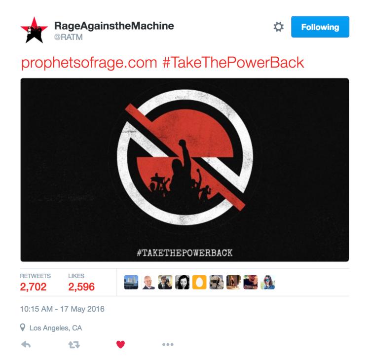 RATM announce Prophets Of Rage