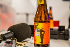 Barrow Boys Stormy Lager at Poncho TV HQ
