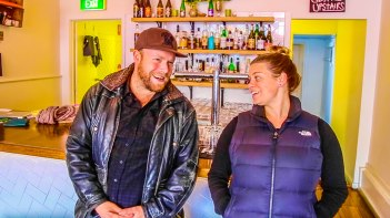 Two Row Bar craft beer founder, Tiffany Waldron on Hot & Delicious: Rocks The Planet!