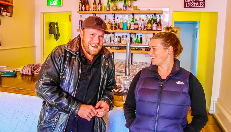 Inspiring podcast with Two Row Bar craft beer founder, Tiffany Waldron.