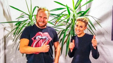 Taryn Williams (Founder Wink Models + TheRight.Fit) on Hot & Delicious: Rocks The Planet! in Sydney