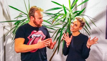 Taryn Williams (Founder Wink Models + TheRight.Fit) on Hot & Delicious: Rocks The Planet! in Sydney.