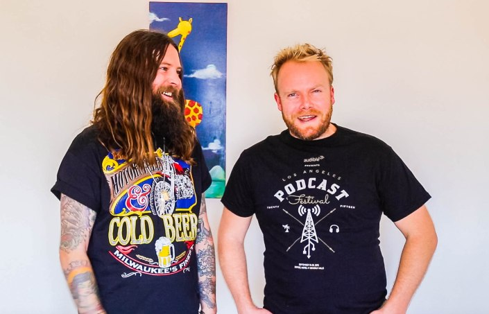 Young Henrys Brewery co-founder, Oscar McMahon, hits Hot & Delicious: Rocks The Planet! podcast in Sydney.