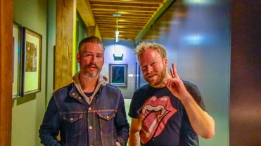 Glenny G joins the Hot & Delicious: Rocks The Planet! podcast in Sydney.