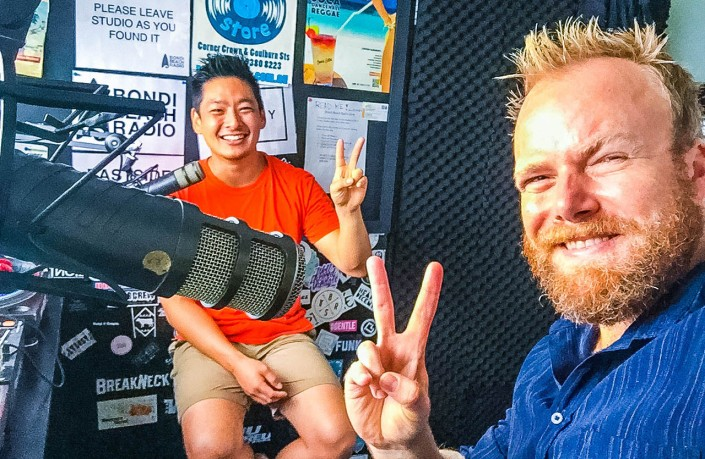 TwoSpace co-founder Tashi Dorjee drops by Hot & Delicious Rocks The Planet