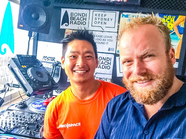 TwoSpace co-founder Tashi Dorjee and Dan Wilkinson of Hot & Delicious: Rocks The Planet!