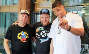 Krafty Kuts + Chali 2NA (J5) on Hot & Delicious: Rocks The Planet in Bondi Beach