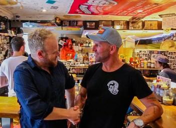 Bondi Tony's Burger Joint founder, Tony Gosden, joins Hot & Delicious: Rocks The Planet! in Sydney.