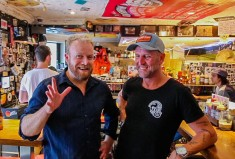 Bondi Tony's Burger Joint founder, Tony Gosden, joins Hot & Delicious: Rocks The Planet! in Sydney.