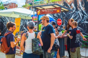 Hot & Delicious: Rocks The Planet! attends Mash Craft Beer Festival for @craftbeerlovin'