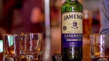 Jameson Irish Whiskey x Young Henrys Brewery announce new whiskey release. Photo courtesy of Jameson Whiskey.