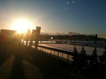 900 sq metre Bondi Beach ice-rink