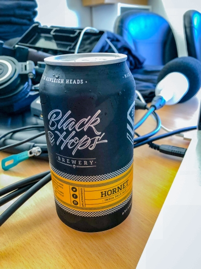 Black Hops Brewery podcast on @hotndelicious