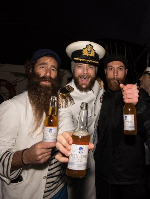 Beard Season launch on Sydney Harbour. Photo Credit: vixpixphotography.com