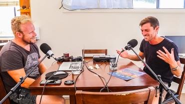 @NOTNOTCamScott x @hotndelicious entrepreneurship podcast LIVE at Bondi Beach!