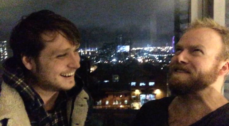 Hayden Calnin & @hotndelicious back in the day! Podcast #38 in Melbourne