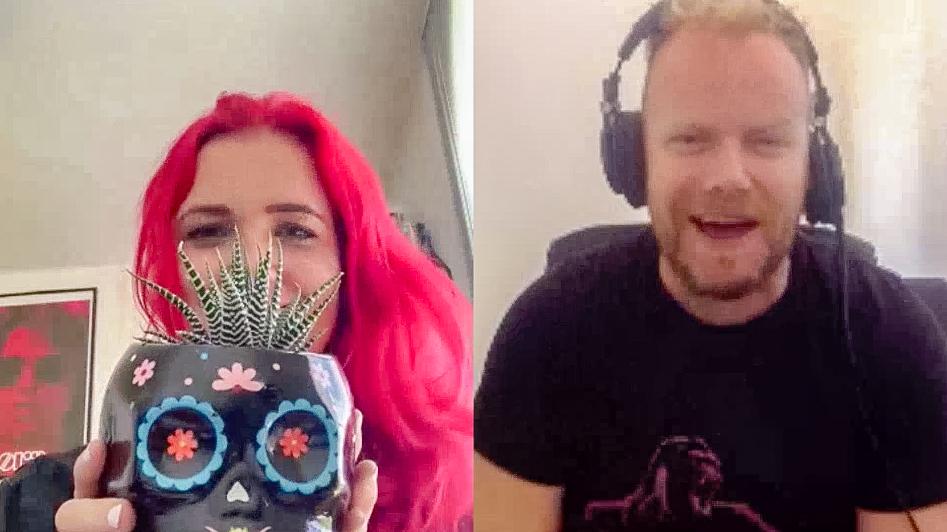 LA-based Evol Walks lead singer Leah Martin-Brown on Hot & Delicious: Rocks The Planet! podcast.