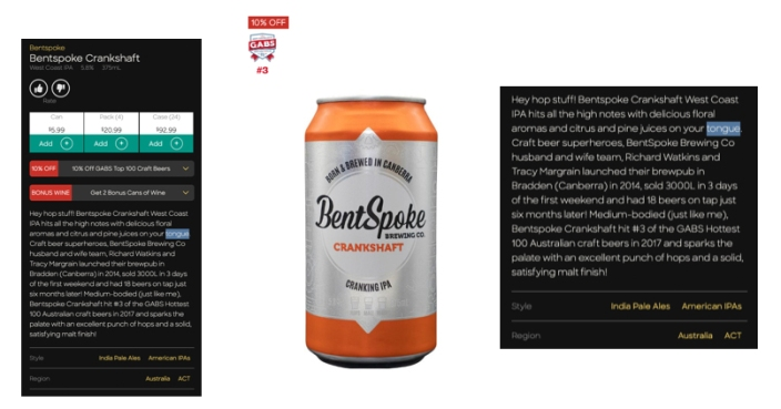 BoozeBud Website/App copywriting by @hotndelicious