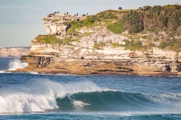 Surfing Mackenzies Point Bondi Beach, Sydney, Australia. Prints available on request. info@hotndelicious.com