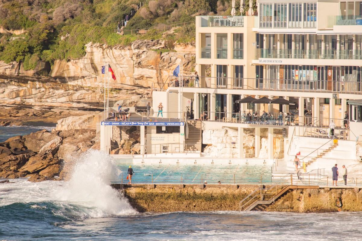 Bondi Icebergs Club by @hotndelicious. Bondi Beach, Sydney, Australia. Prints available on request. info@hotndelicious.com