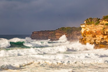 Bronte Beach stormy magic by @hotndelicious