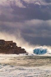 Dark & stormy Bondi to Bronte by @hotndelicious