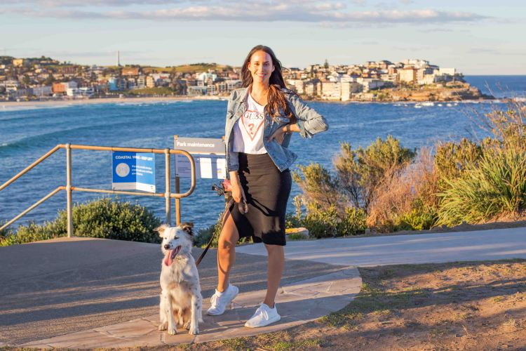 Bondi Pupperazzi launches in Bondi Beach with F45's Lauren Vickers
