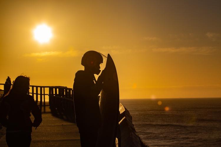 Cedric the surfer from Belgium. Bronte Beach. @hotndelicious Photo Diary   Bondi to Bronte Magic & Silhouette Sessions