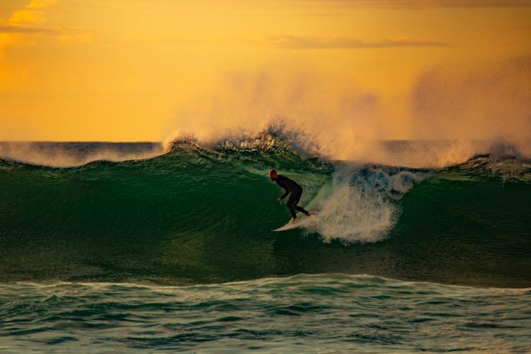 Ride The White Lightning - Sunrise Bondi Beach feat. Chris Friend by @hotndelicious